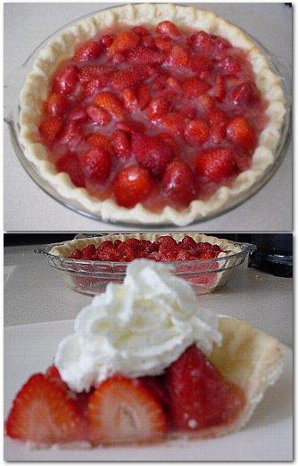 Fresh & Sweet Strawberry Pie | Girl Plus Food