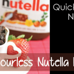 Flourless Nutella Mug Cake