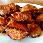 Sweet Miso & Garlic Potatoes
