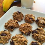 Three Ingredient Banana Oatmeal Chocolate Chip Cookies