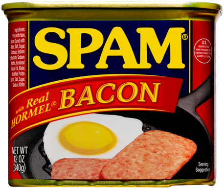 spam with bacon