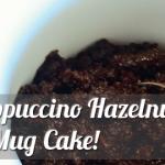 Easy, Mocha Cappuccino Hazelnut Flourless Mug Cake!