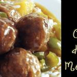 Easy Peasy Crock Pot Hawaiian Meatballs!