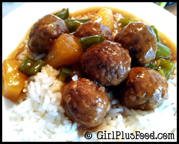 crock pot hawaiian meatballs