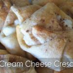 Cream Cheese Crescent Roll Puffs!