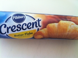 crescent rolls in a can