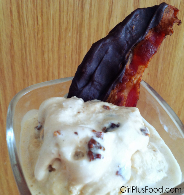 Candied Bacon Ice Cream! | Girl Plus Food