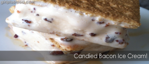 Candied Bacon Ice Cream!
