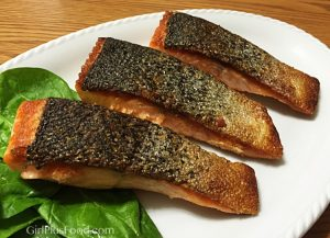 Salmon Shioyaki (Salted Grilled Salmon)