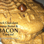 Dark Chocolate, Peanut Butter and Bacon Cookies!
