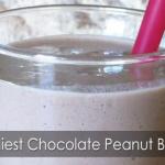Yummiest Chocolate Peanut Butter Smoothie