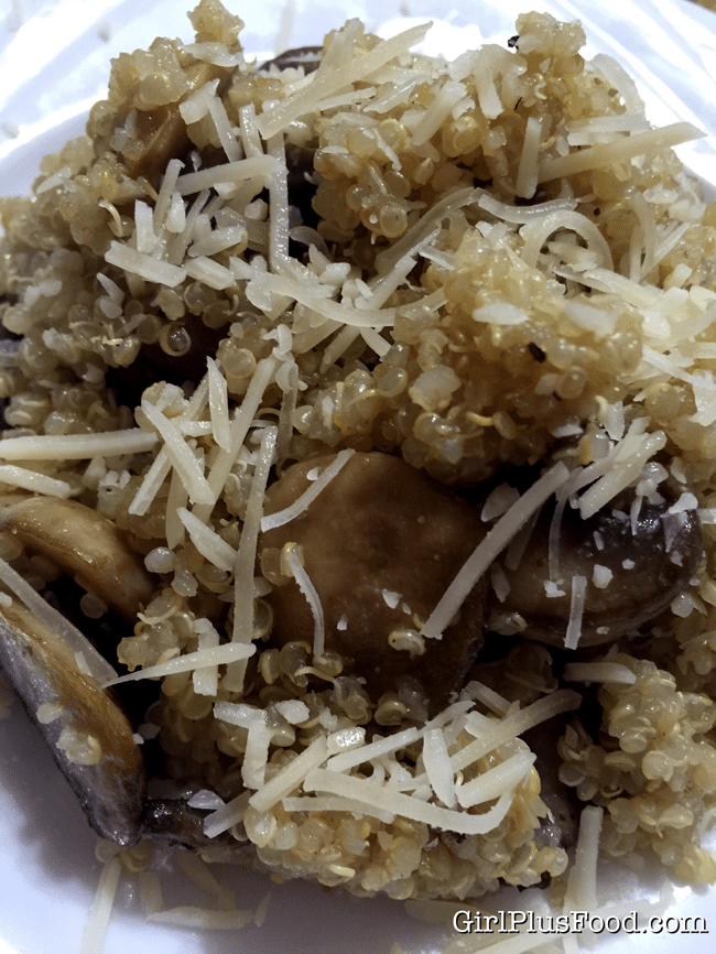 quinoa-garlic-mushrooms