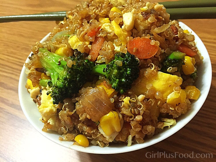 quinoa-fried-rice-girlplusfood